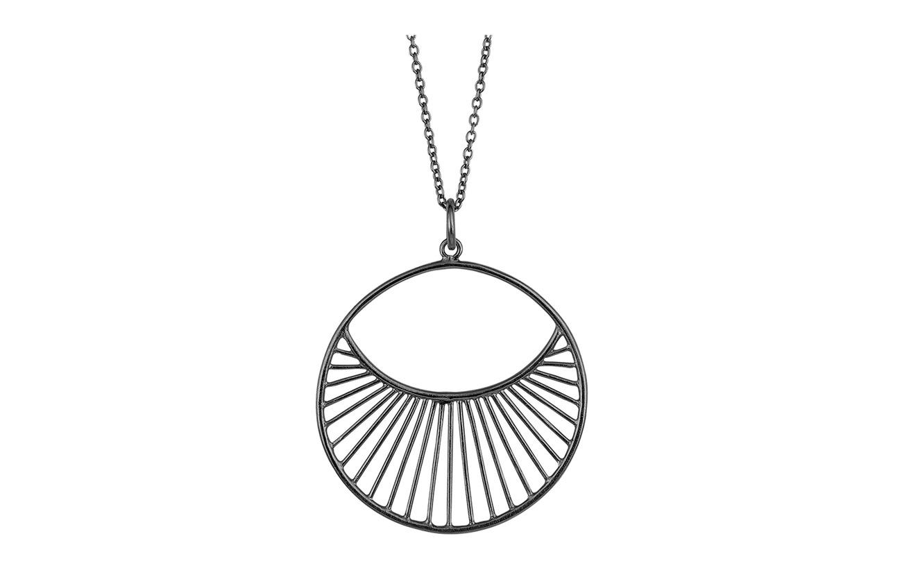 Pernille Corydon Daylight Necklace  80 cm - OXYDIZED