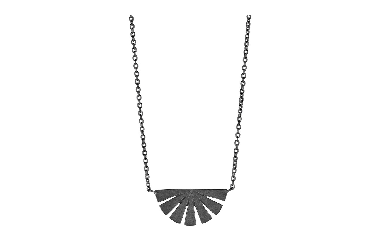 Pernille Corydon Dawn Necklace Lenght 40-48 cm - OXYDIZED