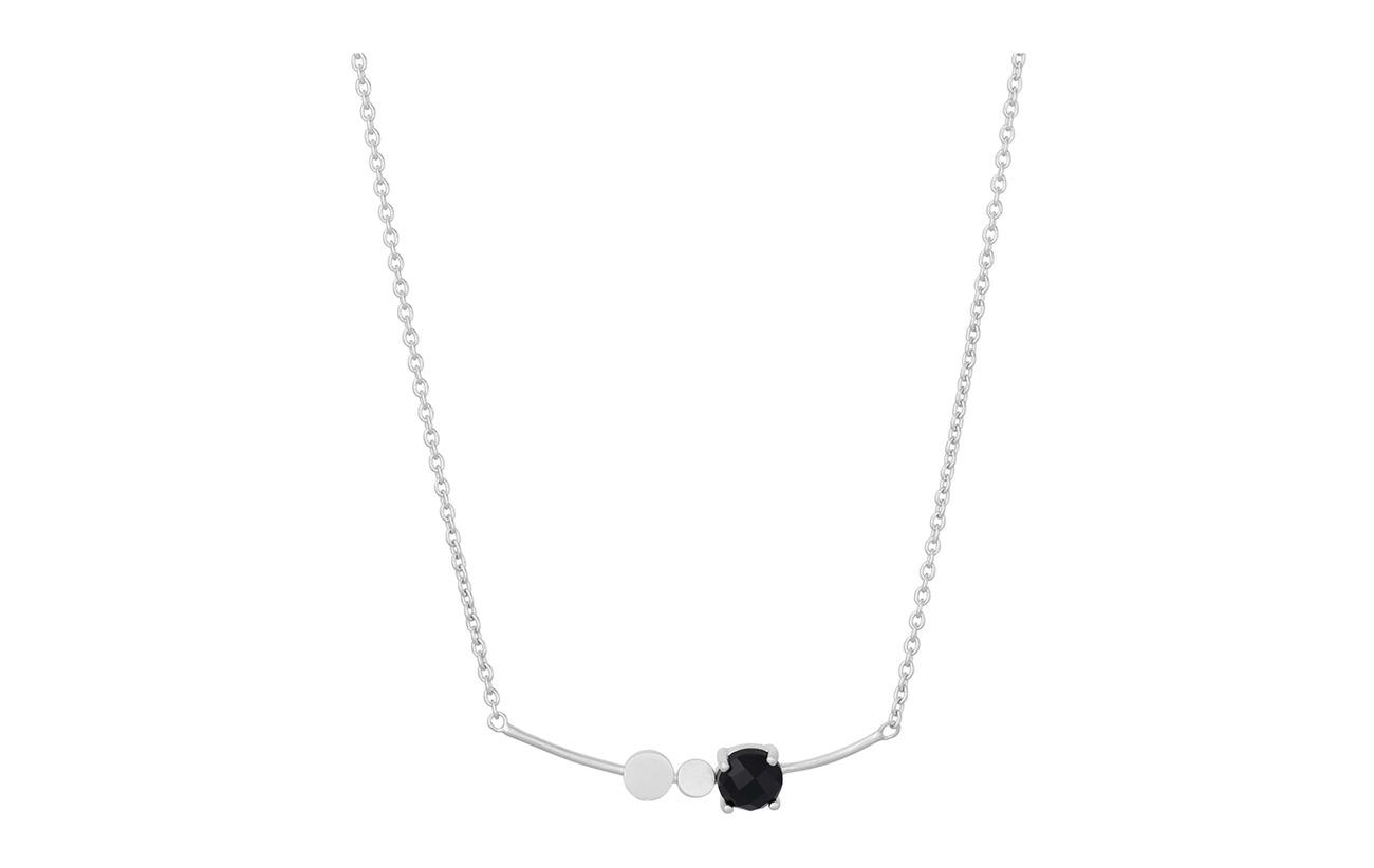 Necklace Corydon Lave Onyx Black AdjsilverPernille XZuOPkiT
