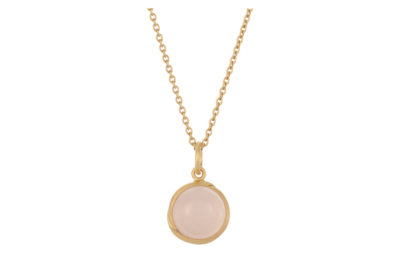 Pernille Corydon Aura Rose Necklace Adj. 70-80 cm - GOLD PLATED