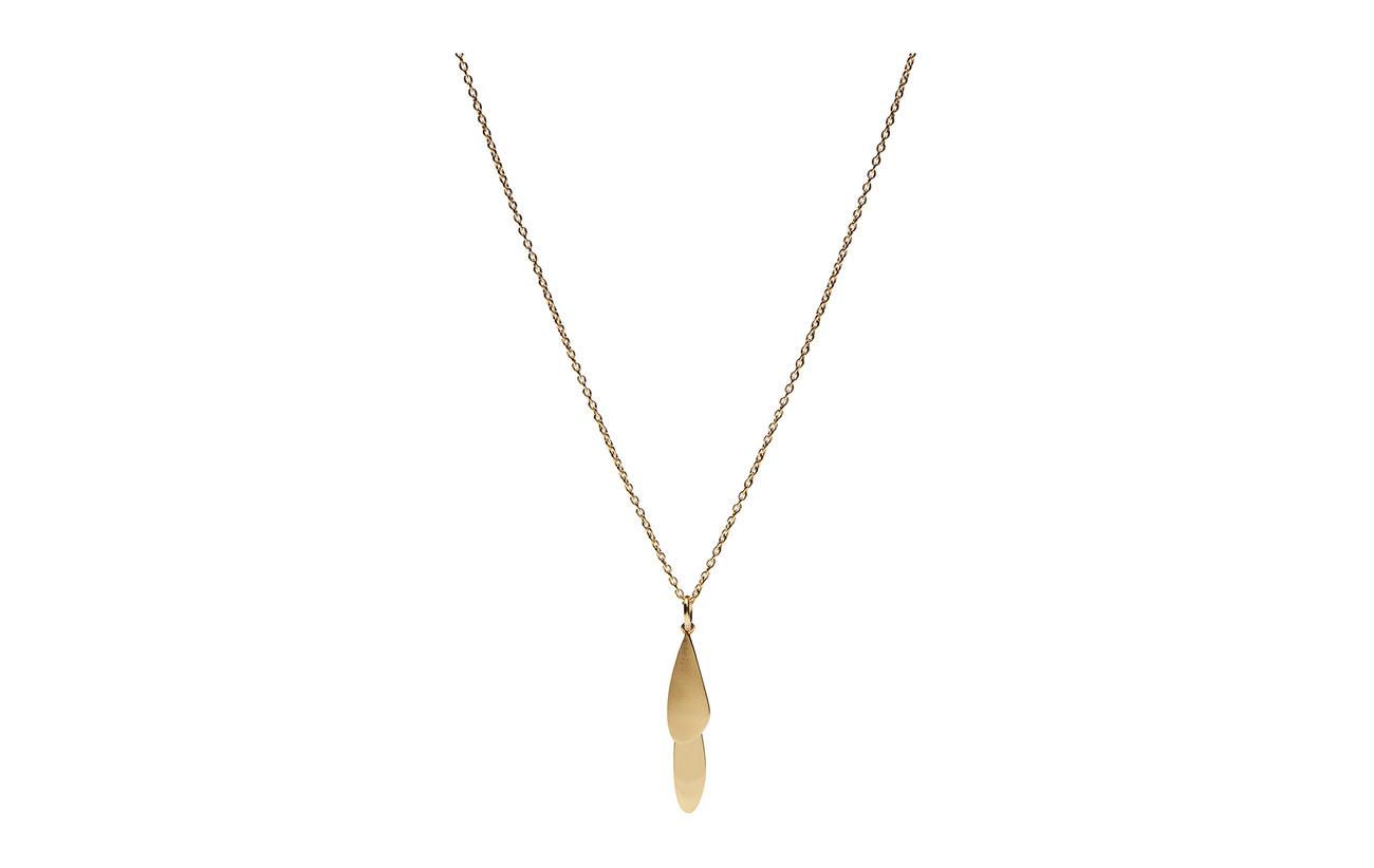 Pernille Corydon Raindrop Necklace 40-48 cm Adj - GOLD PLATED