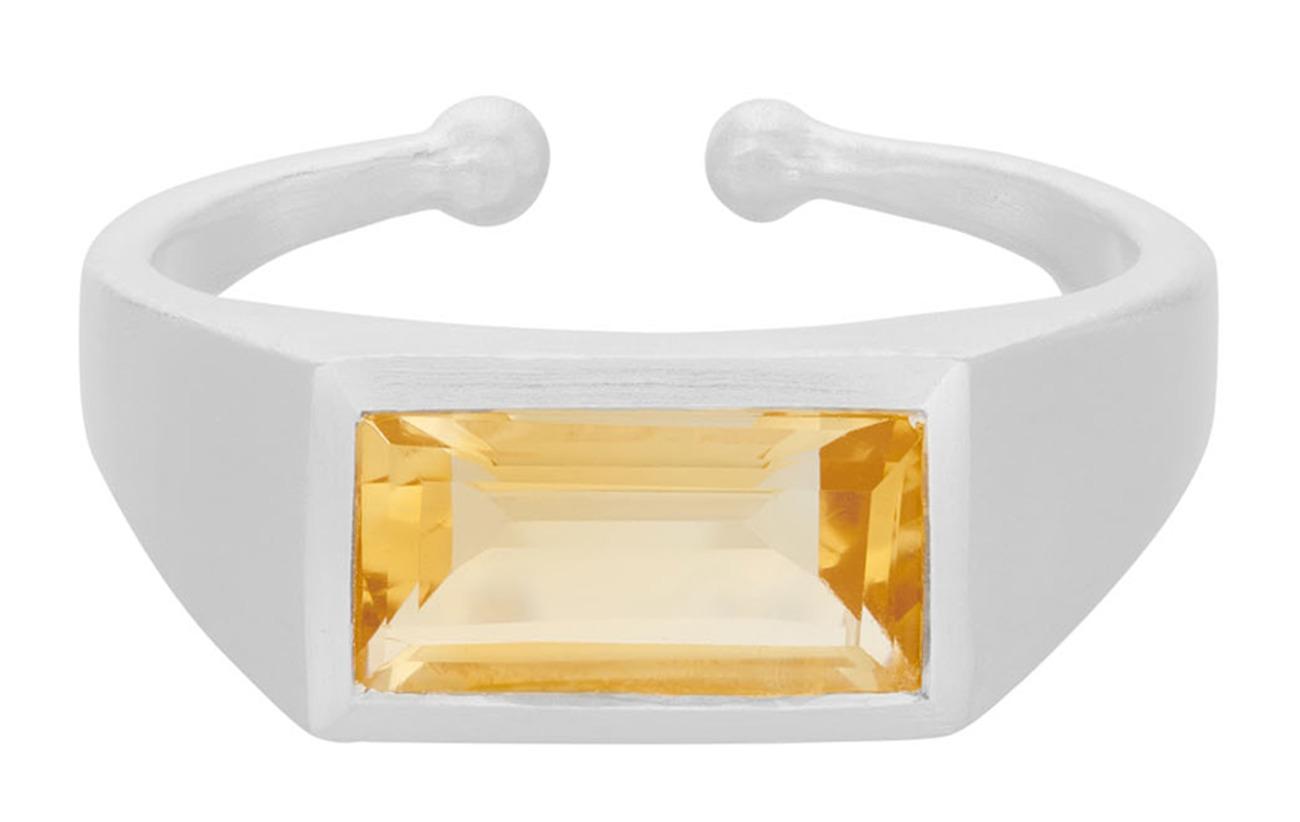 Pernille Corydon Treasure Ring Adj. - SILVER