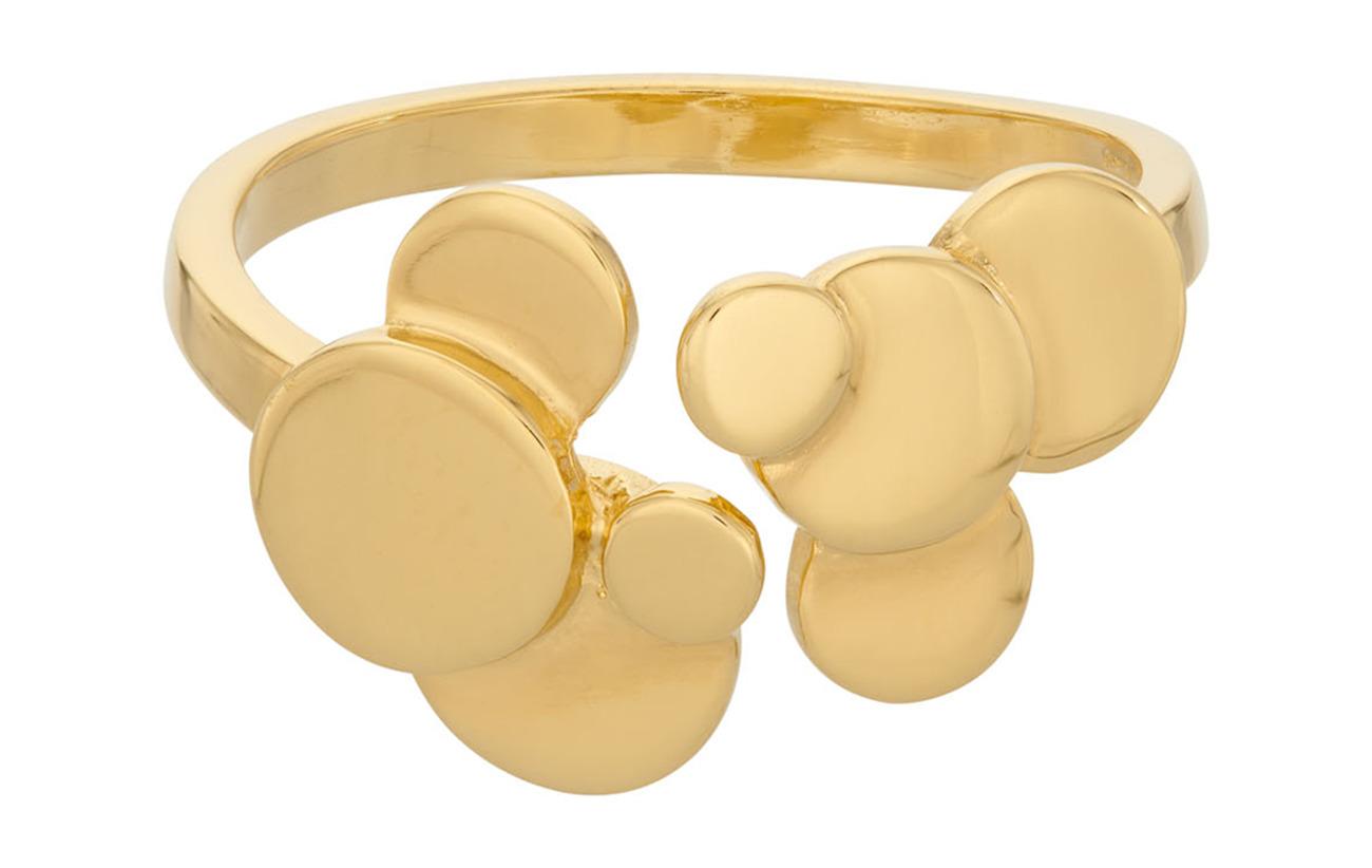 Pernille Corydon Sheen Ring Adj. - GOLD PLATED