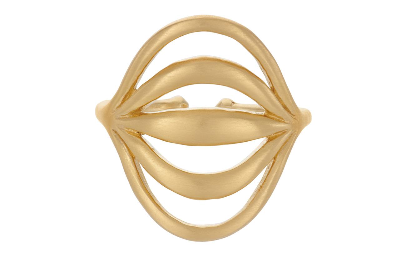 Pernille Corydon Tidal Ring Adj. - GOLD PLATED