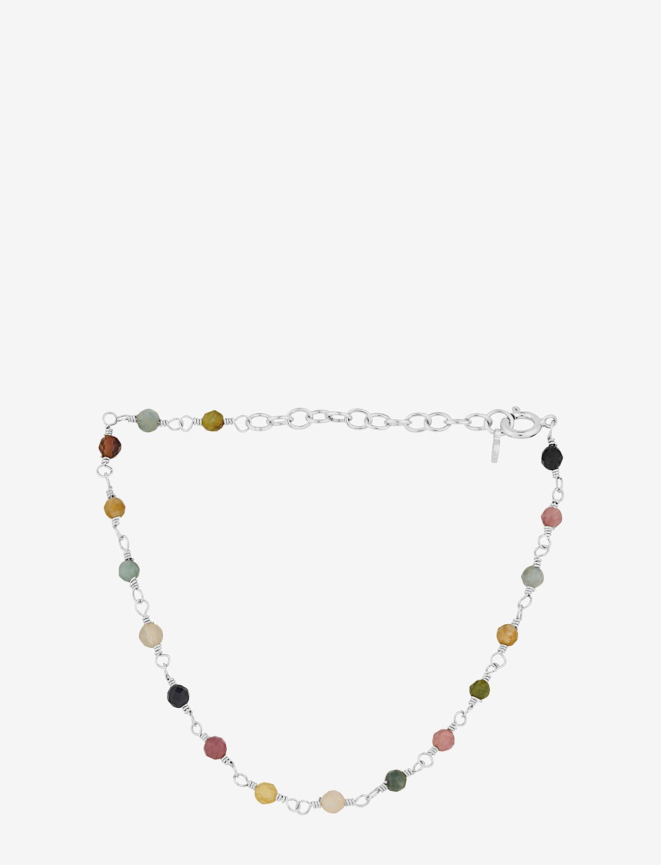 Pernille Corydon - Shade Bracelet 15-18 cm Adj. - dainty - silver - 0