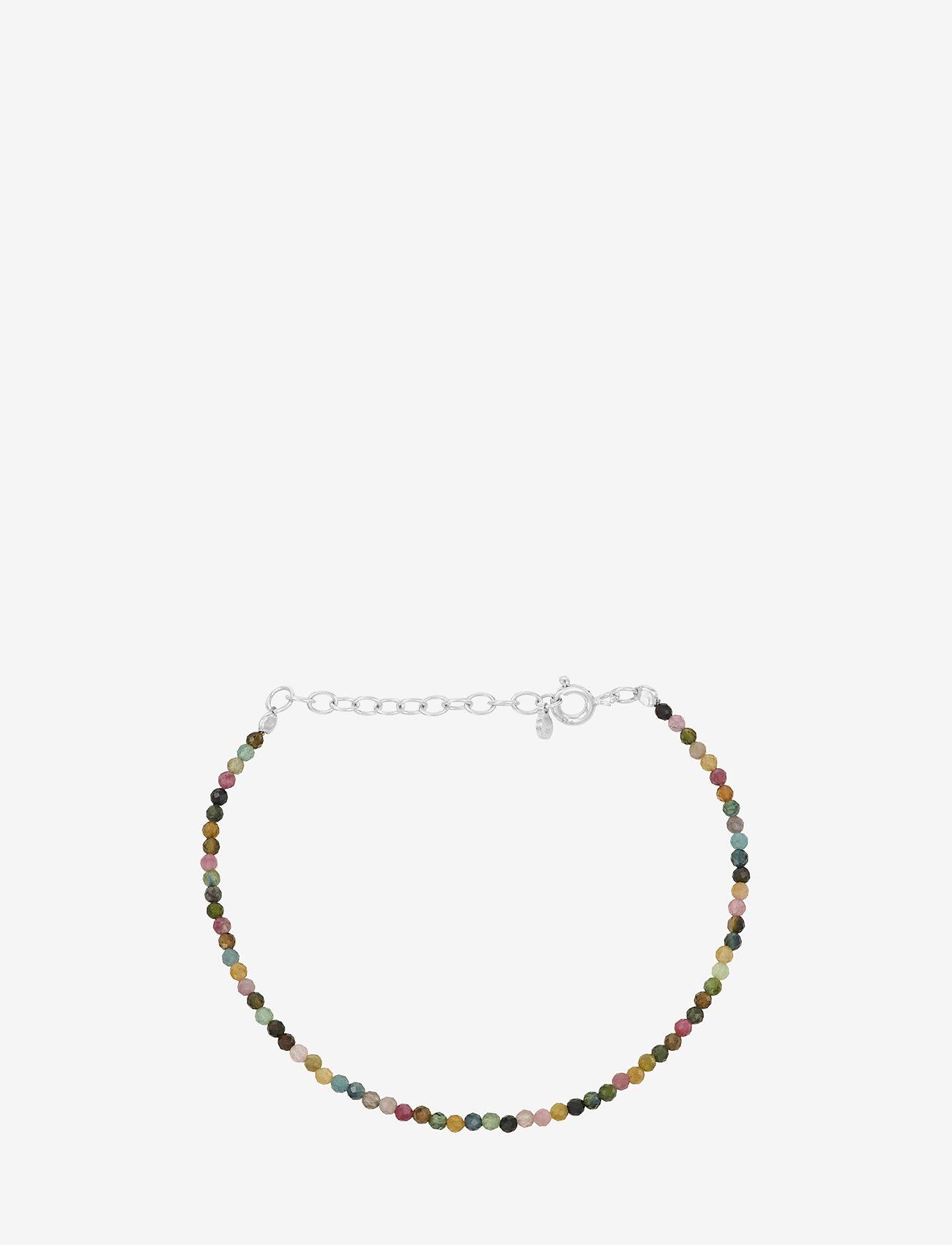 Pernille Corydon - Turmalin Bracelet Adj. 15-18 cm - dainty - silver - 0