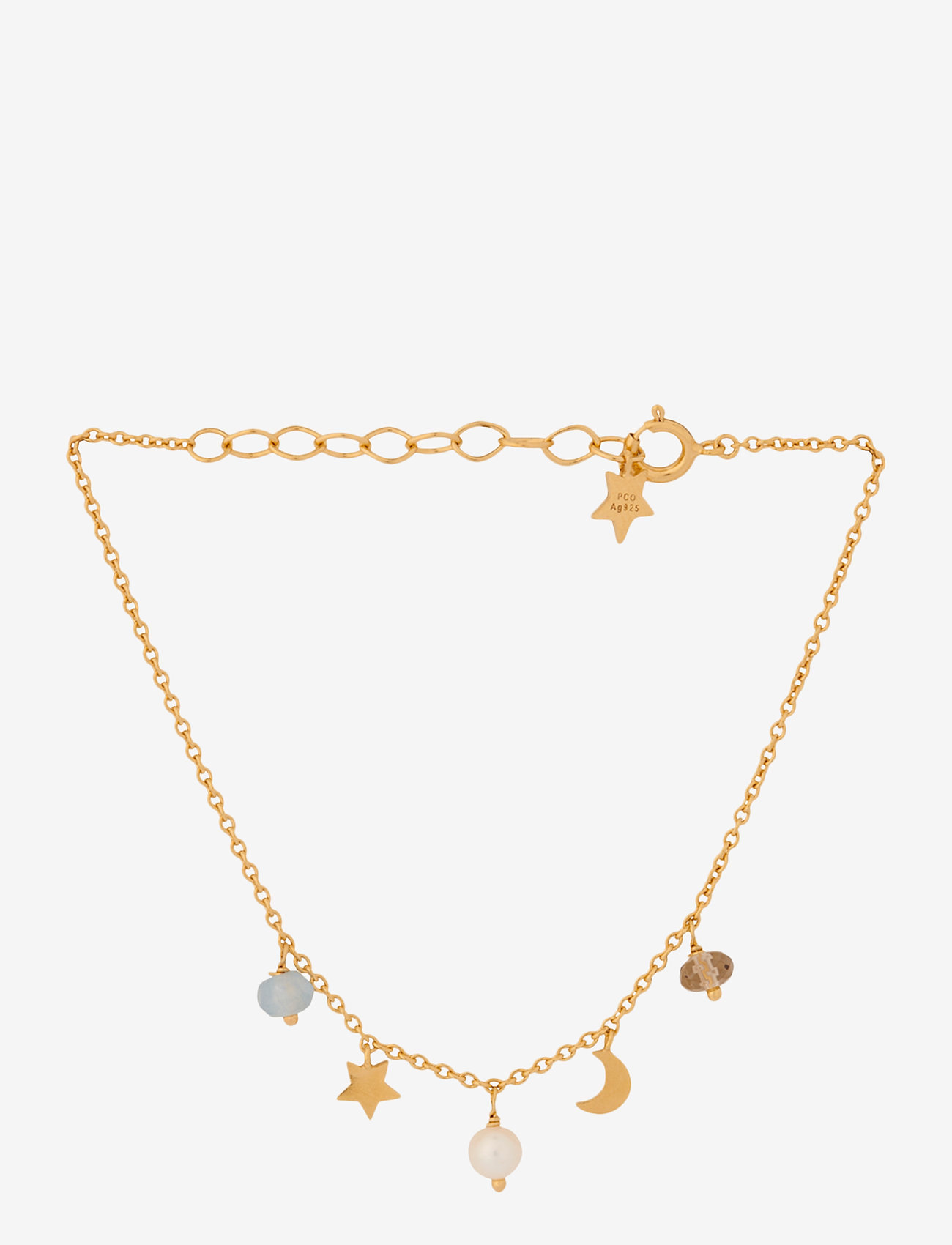 Pernille Corydon - Dream Bracelet Adj. 15-18 cm - dainty - gold plated - 0
