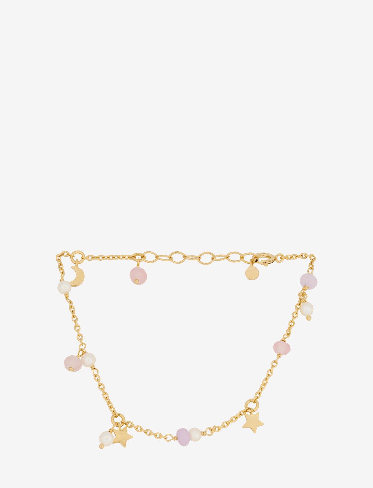 Pernille Corydon - Pastel Dream Bracelet - dainty - gold plated - 0