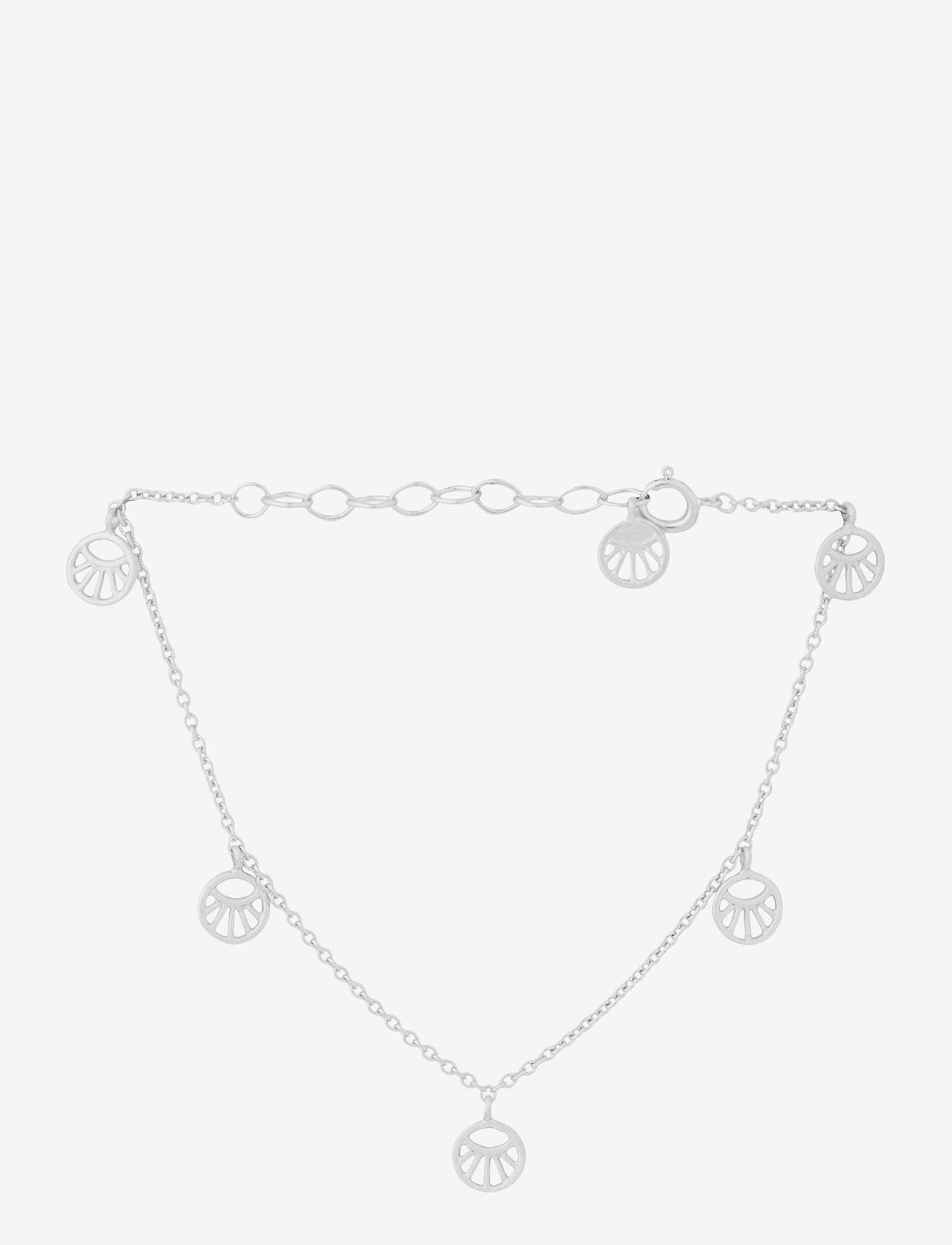 Pernille Corydon - Mini Daylight Bracelet. Adj. 15-18 cm - dainty - silver - 0