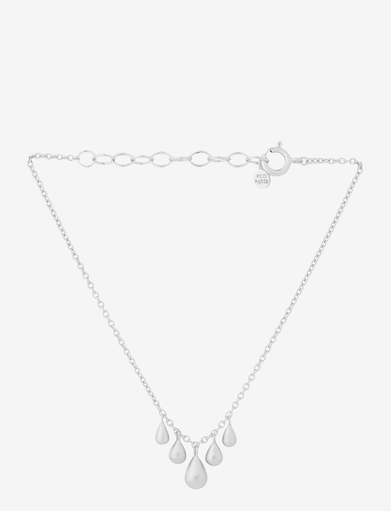 Pernille Corydon - Waterdrop Bracelet Adj. 15-18 cm - dainty - silver - 0