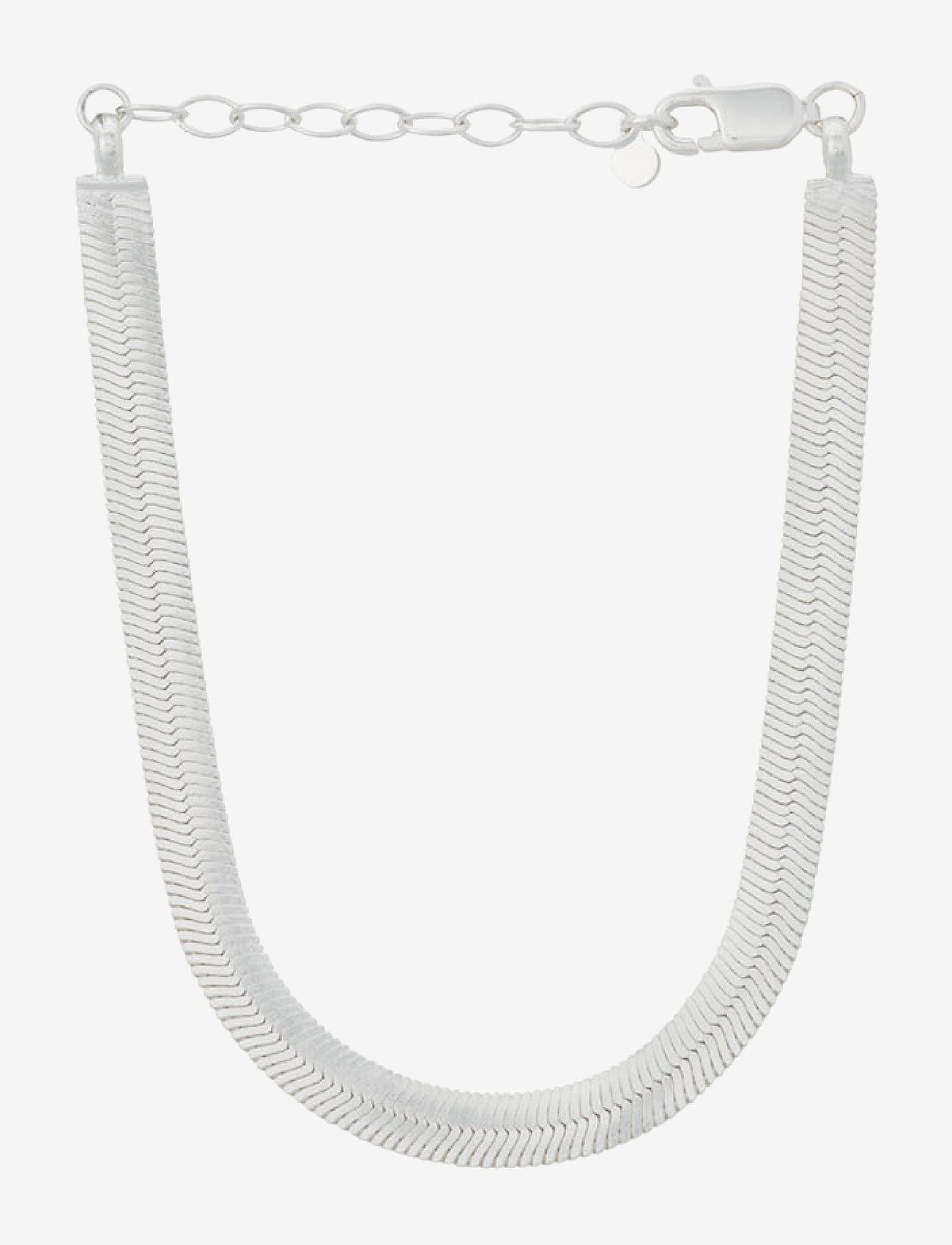 Pernille Corydon - Edith Bracelet Adj. 15-18 cm - dainty - silver - 0