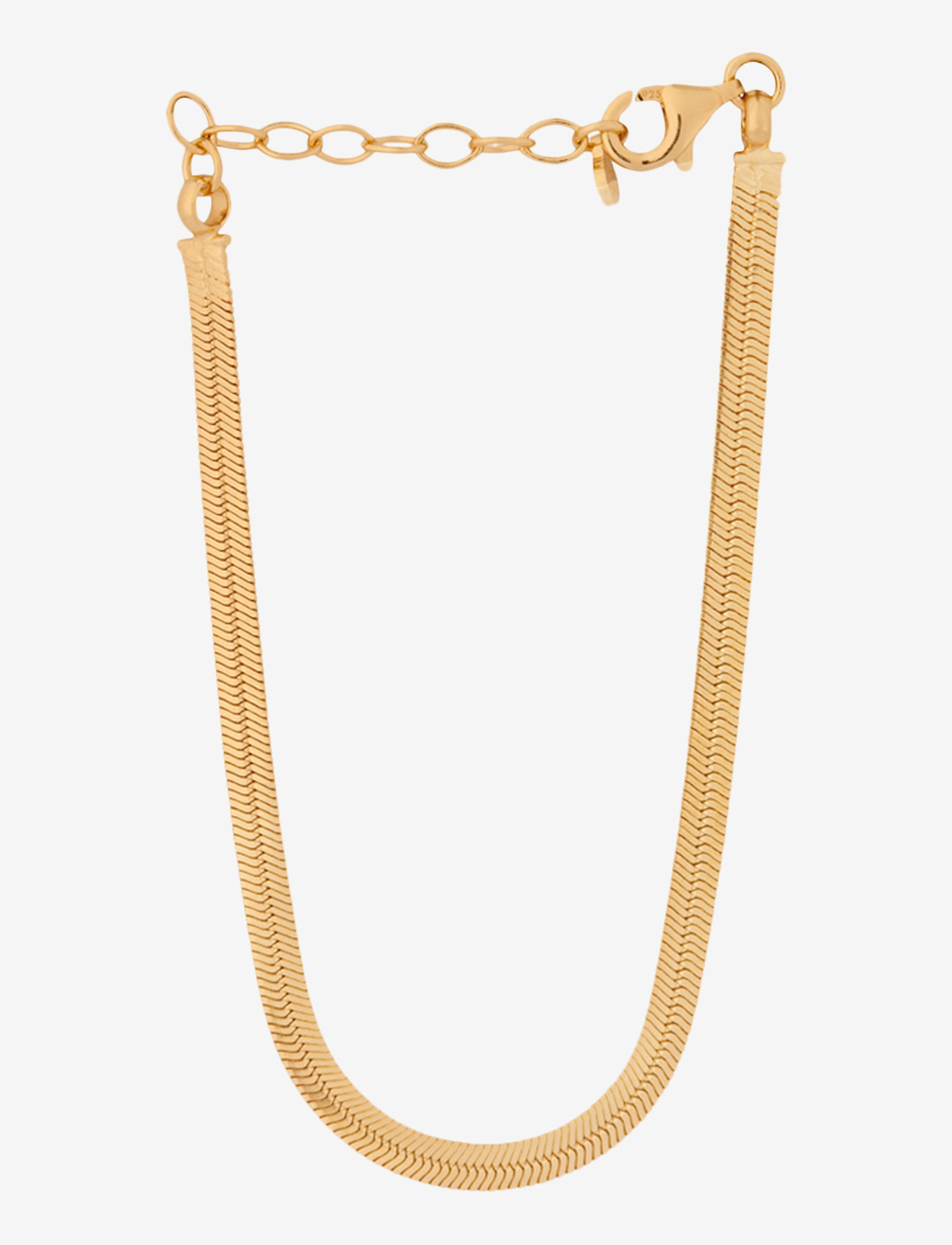 Pernille Corydon - Thelma Bracelet Adj. 15-18 cm - dainty - gold plated - 0