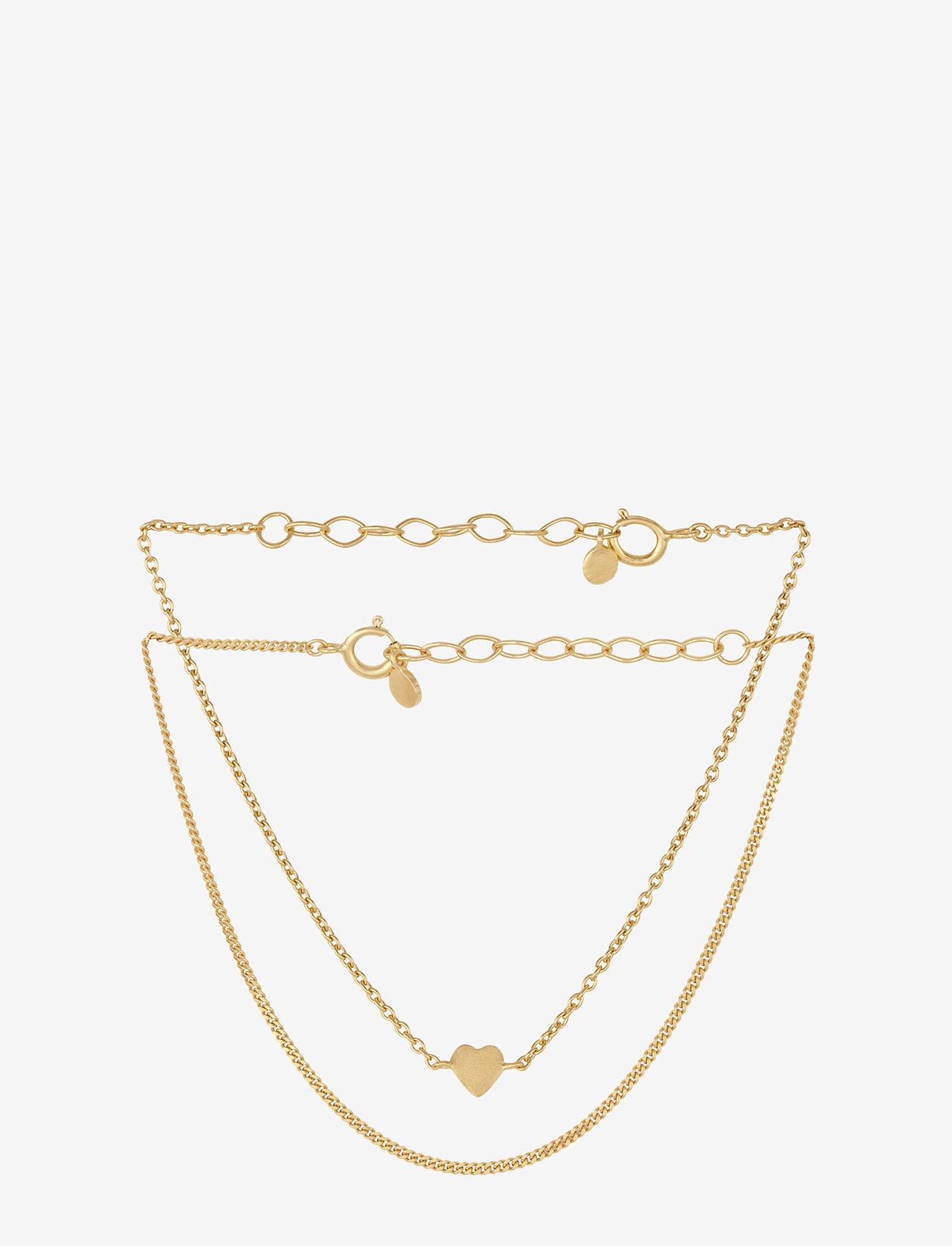Pernille Corydon - Moment Bracelets Box - 15-18 cm adjustable - dainty - gold plated - 0