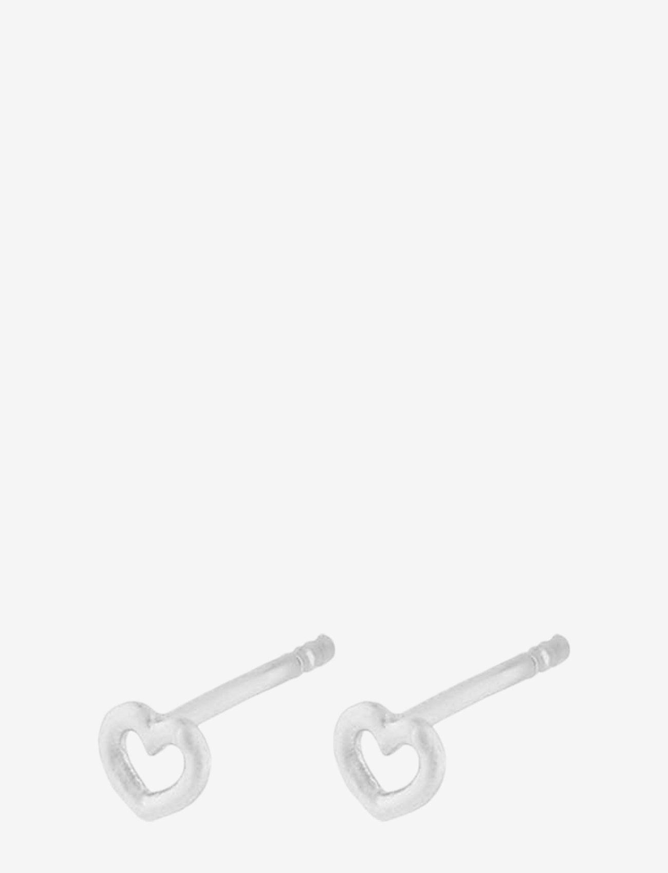Pernille Corydon - Love Earsticks 4 mm - studs - silver - 0