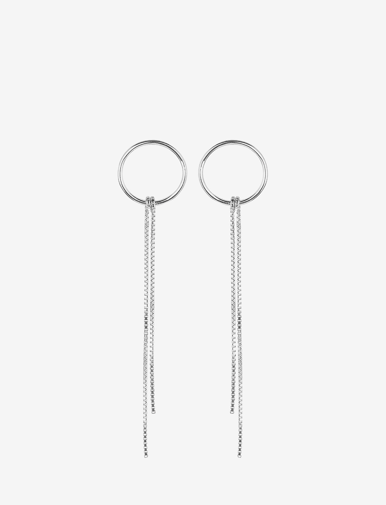 Pernille Corydon - Tango Earsticks  size 14 mm - statement earrings - silver - 0