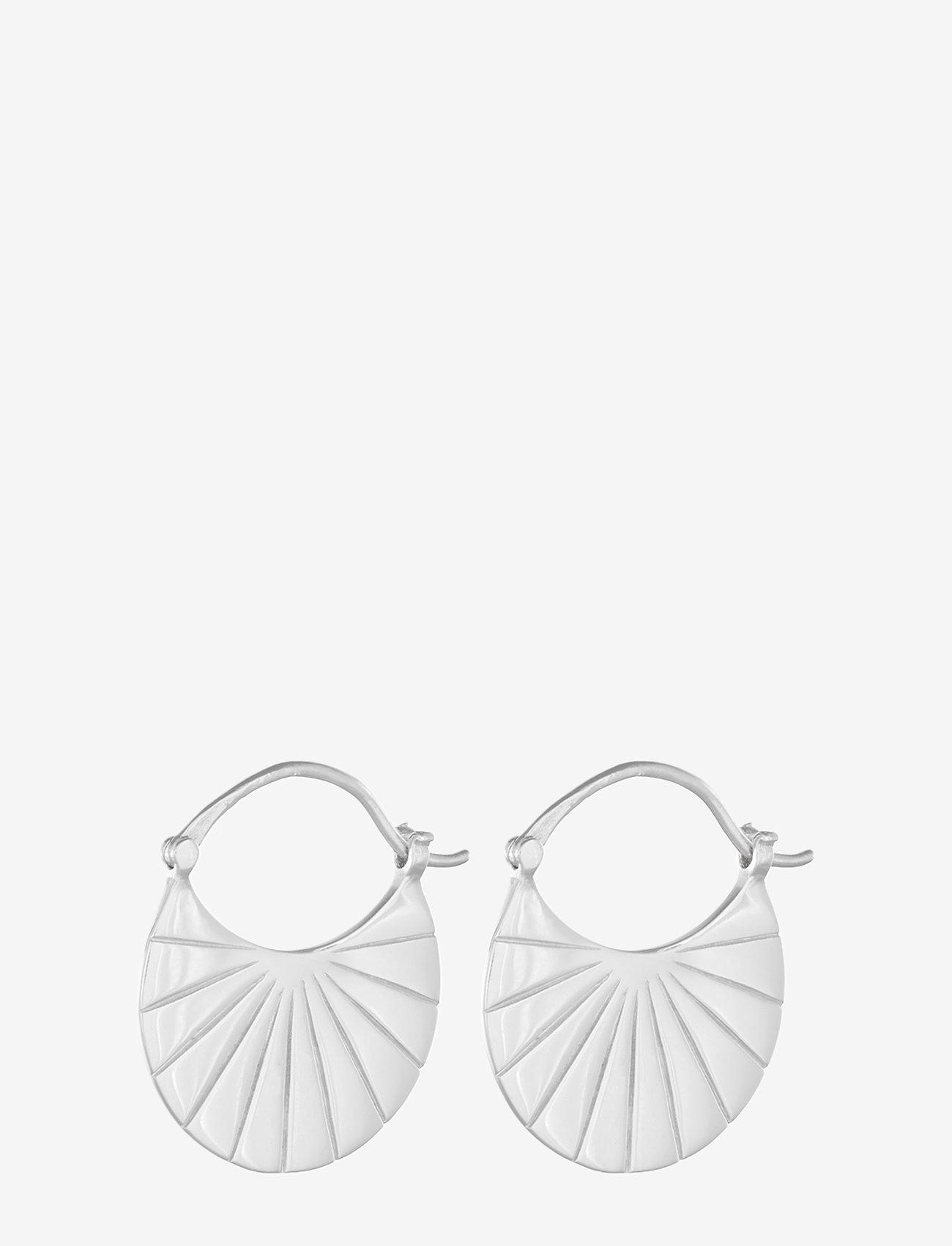 Pernille Corydon - Copenhagen  Earrings 22 mm - hängande örhängen - silver - 0
