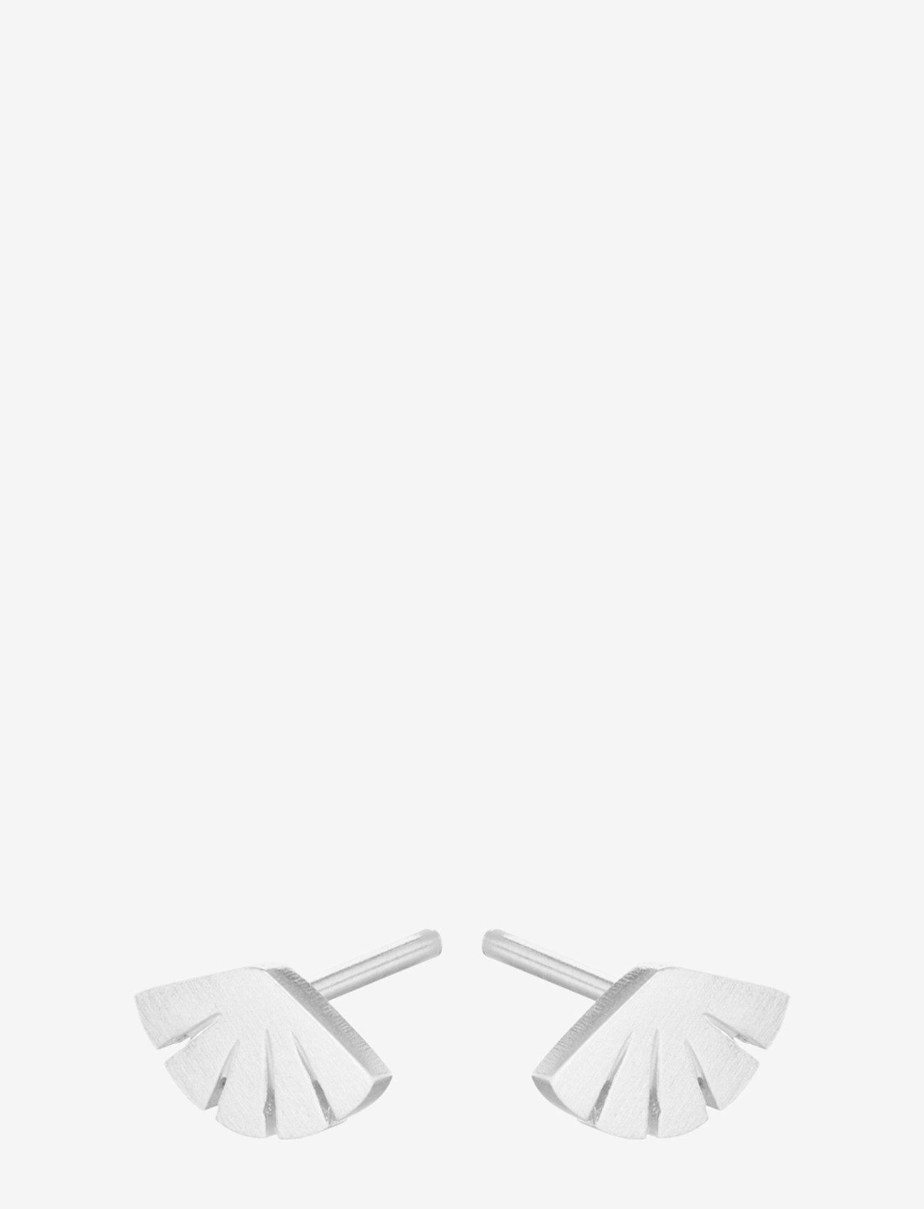 Pernille Corydon - Flare Earsticks  Size 8 mm - studs - silver - 0
