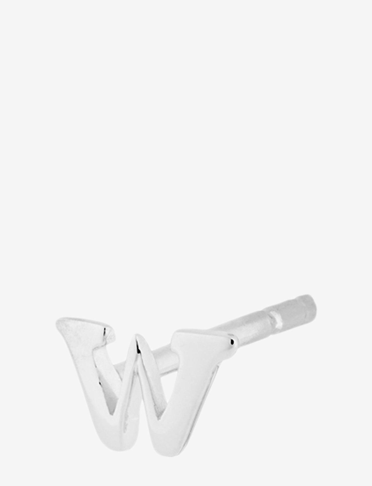 Pernille Corydon Note One Piece Earstick - Biżuteria SILVER - Akcesoria