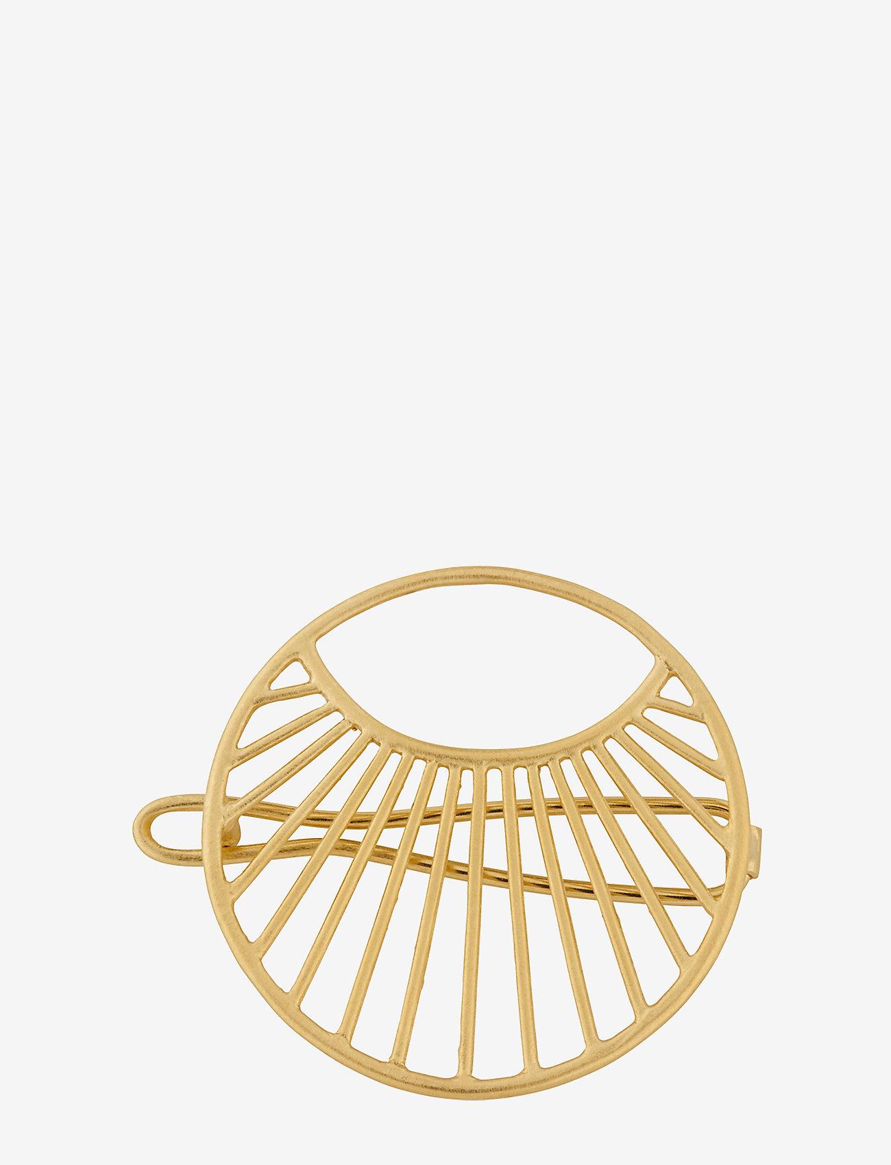 Pernille Corydon - Daylight Hair Clip 30mm - hiusasusteet - gold plated - 0