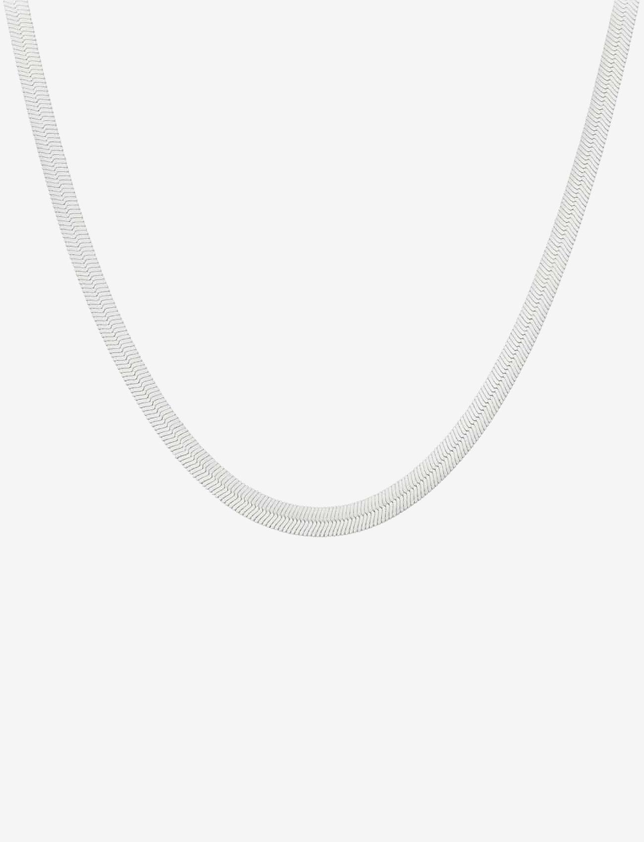 Pernille Corydon Edith Necklace Adj 47-52 cm - Biżuteria SILVER - Akcesoria