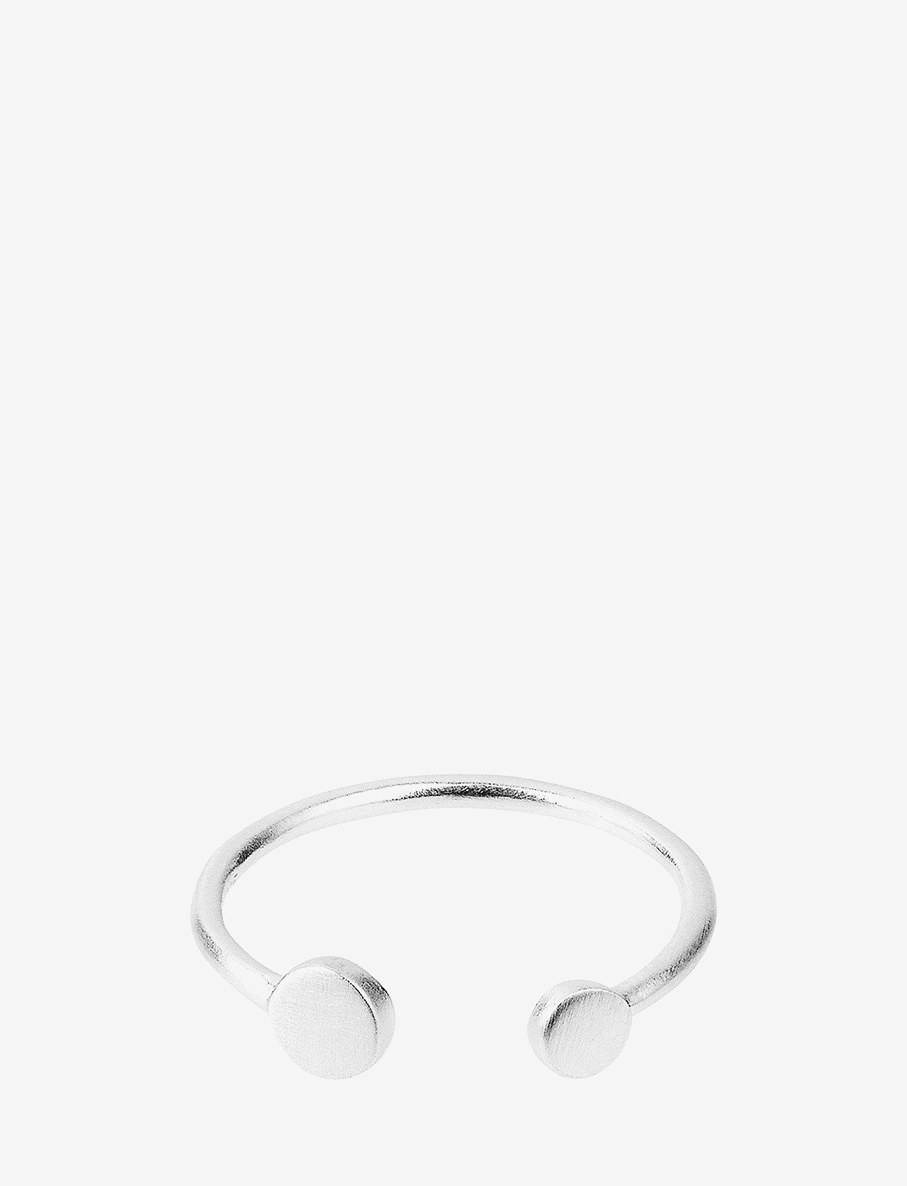 Pernille Corydon - Mini Coin Ring Adjustable - pierścionki - silver - 0