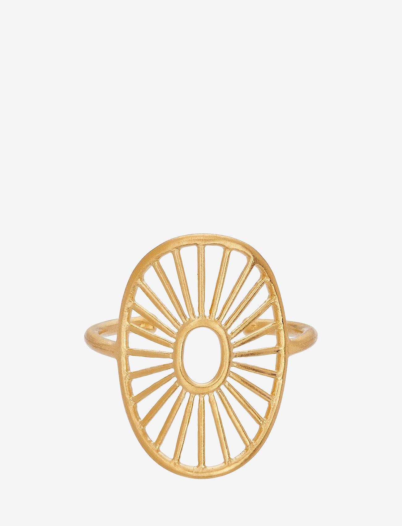 Pernille Corydon - Daylight Ring Adjustable - pierścionki - gold plated - 0