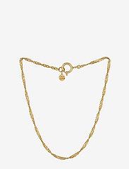 Pernille Corydon - Singapore Bracelet - dainty - gold plated - 0