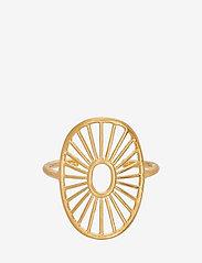 Pernille Corydon - Daylight Ring Adjustable - pierścionki - gold plated - 1