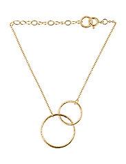 Double Plain Bracelet - GOLD PLATED