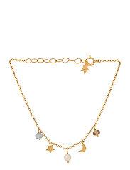 Dream Bracelet Adj. 15-18 cm - GOLD PLATED