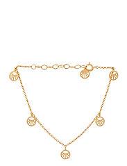 Mini Daylight Bracelet. Adj. 15-18 cm - GOLD PLATED