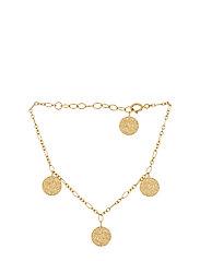 New Moon Bracelet Adj. 15-18 cm - GOLD PLATED
