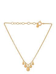Waterdrop Bracelet Adj. 15-18 cm - GOLD PLATED