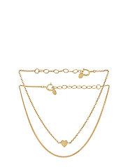 Moment Bracelets Box - 15-18 cm adjustable - GOLD PLATED