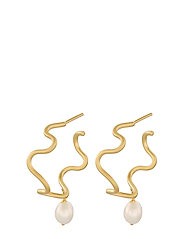 Bay Earrings 8 mm - GOLD PLATED