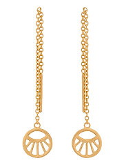 Small Daylight Earchains Lenght 50 mm - GOLD PLATED