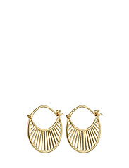 Pernille Corydon Daylight Earring size 22 mm - GOLD PLATED