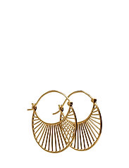 Large Daylight  Earrings 30 mm - GOLD PLATED