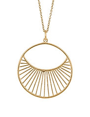 Pernille Corydon Daylight Necklace Short  40-48 cm - GOLD PLATED