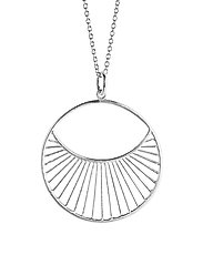 Daylight Necklace Short  40-48 cm - SILVER