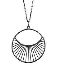 Daylight Necklace  80 cm - OXYDIZED