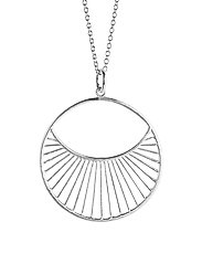 Daylight Necklace  80 cm - SILVER