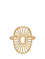 Pernille Corydon Daylight Ring Adjustable - GOLD PLATED