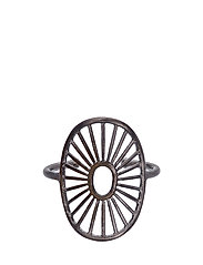 Daylight Ring Adjustable - RUTHENIUM