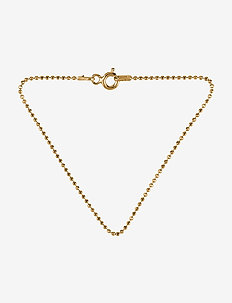 Facet Plain Bracelet 18 cm - GOLD PLATED