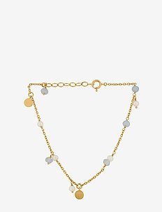 Afterglow Sea Bracelet 15-18 cm Adj. - dainty - gold plated
