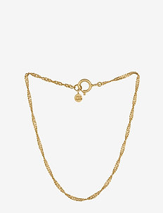 Singapore Bracelet - dainty - gold plated