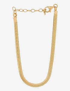Thelma Bracelet Adj. 15-18 cm - dainty - gold plated