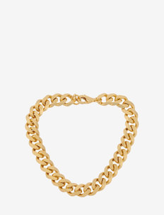 Rock Bracelet - dainty - gold plated