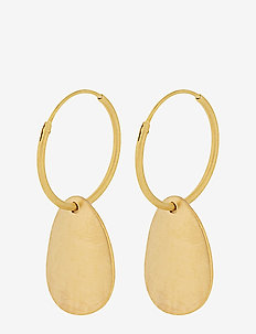 Sky Hoops 18 mm - GOLD PLATED